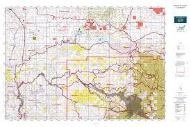 Detailed Map Of Washington State by Wa Gmu 520 Winston Map Mytopo