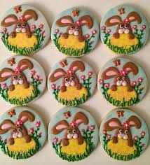 Decorating Easter Cookies Ideas by 195 Best Cookies For Spring Images On Pinterest Decorated