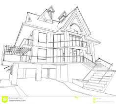 contemporary architecture house design drawing best ideas about