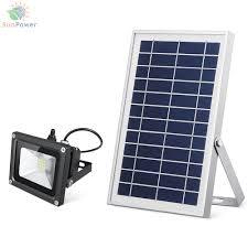 solar led flood lights solar flood light made from metal ip65 16 led 600lm solar led lights
