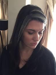 gray streak in hair alexandria neonakis on twitter got the grey streak in my hair