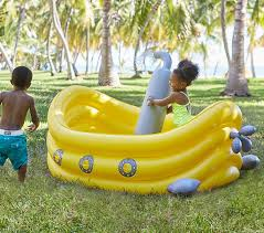 Pottery Barn For Children Submarine Inflatable Pool Pottery Barn Kids