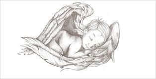 30 angel drawings free drawings download free u0026 premium