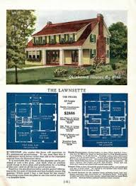 Colonial Revival House Plans 1925 Radford House Plan