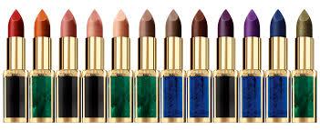 l oreal the l oréal paris x balmain paris capsule lipstick collection