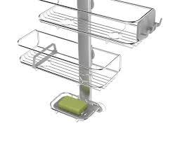 shower organiser mobroi com simplehuman adjustable stainless steel shower caddy organiser