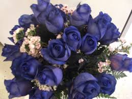 blue roses delivery montreal florist fleuriste montreal canada blue roses bouquet