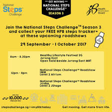 Challenge Steps National Steps Challenge Season 3 Is Health Promotion Board