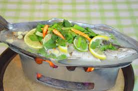 fish cuisine how to steamed fish in lime sauce ปลากะพงน งมะนาว