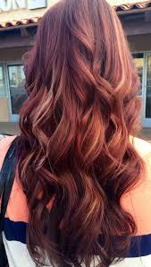 mahogany red hair with high lights 12 hottest mahogany hair color highlights for brunettes mahogany