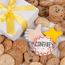 cookie gifts fortunes congratulations signature cookie gift box 24