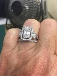 Wedding Rings Walmart by Keepsake Cosmopolitan 1 Carat T W Certified Diamond 10kt White