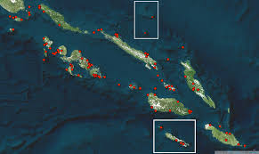 mapping the historical biodiversity of the solomon islands with