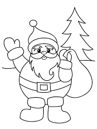 90 picture santa claus sack coloring santa claus sack