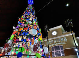 east moco unique tree lights up downtown silver