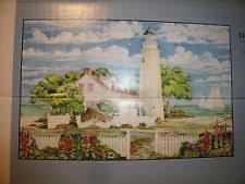 garden wall mural ebay