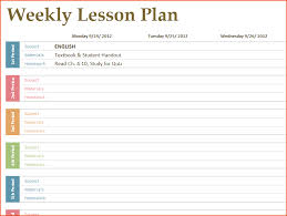8 free printable lesson plan template bookletemplate org