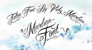 a guide to easy font designs for tattoo