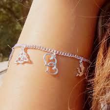 charm bracelet for gold charm bracelet for in 18k white gold fascinating diamonds