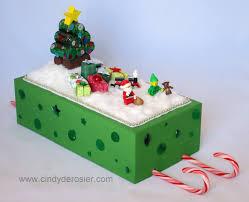 shoebox sleigh fun family crafts