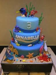 image of coolest finding nemo birthday cakes dory cakes