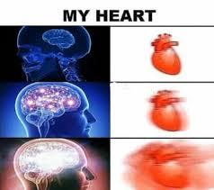 Brain Meme - expanding heart meme is a positive new take on the brain meme