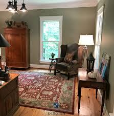 benjamin moore nantucket gray a green paint colour home office