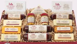 summer sausage gift basket hickory farms giveaway singing through the