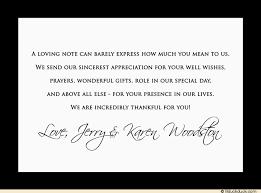 wedding thank you card messages wedding thank you cards enchanting wedding thank you card