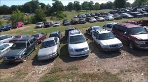 nissan sentra junk parts drone footage of huge salvage yard in tennessee youtube
