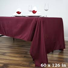 cheap table linens for sale 60 x 126 polyester rectangular tablecloth wedding catering table