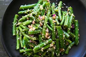 green beans for thanksgiving best recipe green bean salad with basil balsamic and parmesan recipe