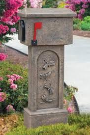 decorative mailboxes bayshore concrete and landscape materials