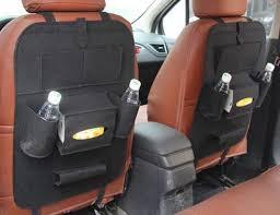 Minivan Interior Accessories Bag Organizer Sale Vehicle Rear Seat Organizer Red Car