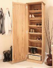 Hall Storage Cabinet Oak Hallway Home Storage Solutions Ebay
