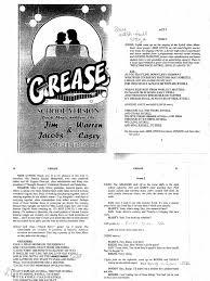 grease script