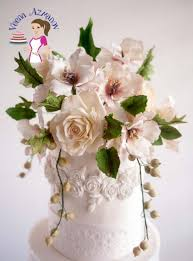 Homemade Flowers Homemade Gumpaste Recipe For Sugar Flowers Veena Azmanov