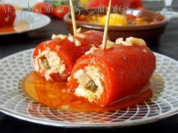 cuisiner le poivron roulés de poivron au thon le cuisine de samar
