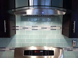 attractive kitchen glass tile backsplash and the modern designs
