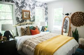 wallpaper accent wall claire brody designs