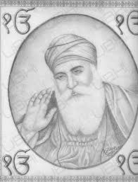 guru nanak dev ji pencil sketch pencil portrait of shri guru nanak