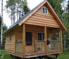 tiny cottages plans diy tiny cabin with plans country living