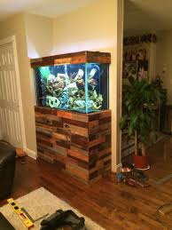 fish tank stand i made using pallets pallet projects fish tank