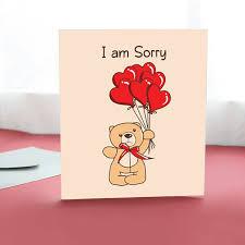 sorry cards tohfay home