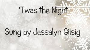 twas the song from and ornaments jessalyn gilsig