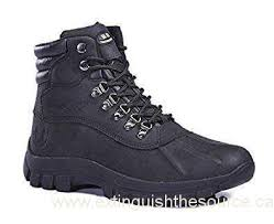 Winter Deals On S Kingshow S M0705 Water Proof Black Leather Rubber Sole Winter