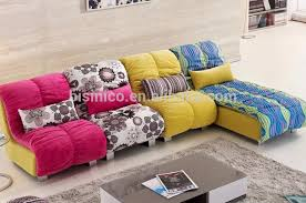 Sofa Sets Designs And Colours Fair Bright Coloured Leather Sofa Bed With Additional Home Design
