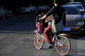 Blind Man Rides Bike China Leads The World In Bike Sharing U2013 And Now Its U0027uber For