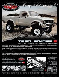 rc4wd trail finder 2 truck kit w mojave ii body set