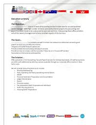 accounting proposal template 8 accounting proposal templates free
